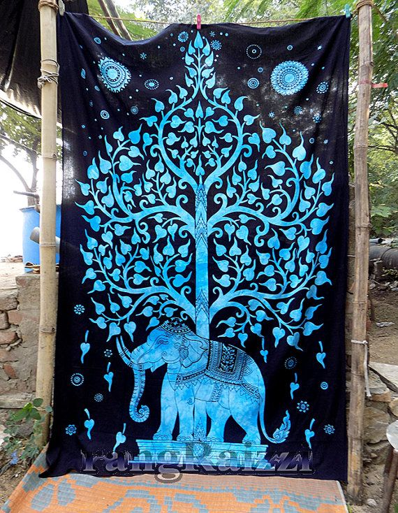 Elephant Tapestry Wall Hanging 17 best elephant bed stuff images on pinterest | wall hangings