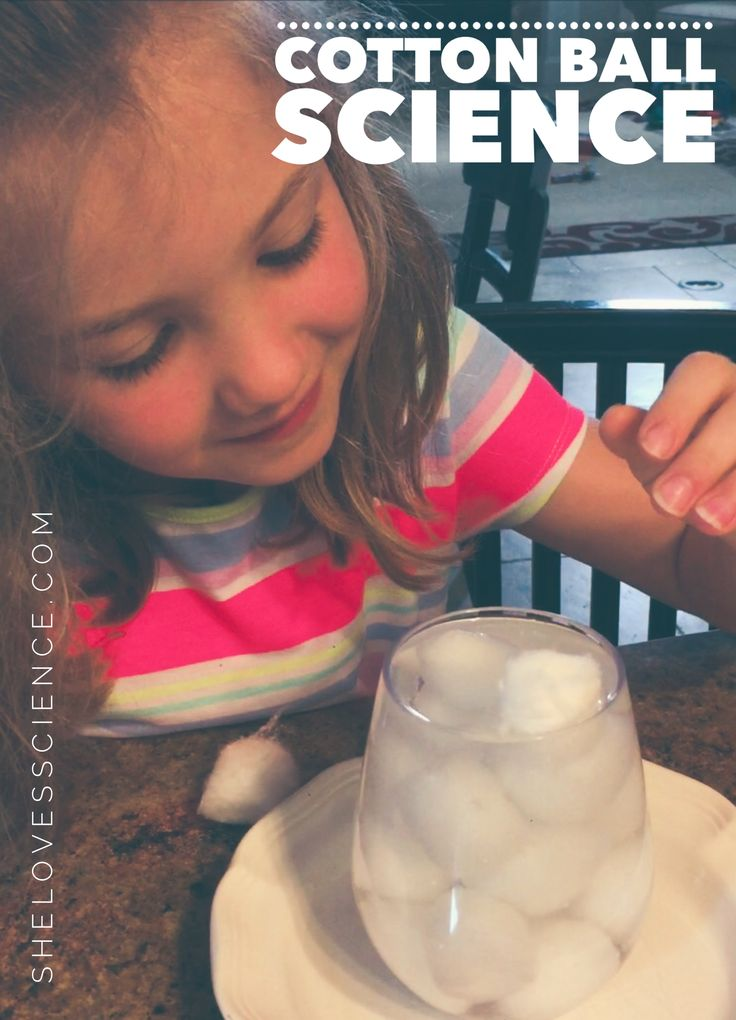 Are you planning a Vacation Bible School this summer? Have you ever wanted to combine teaching science with teaching religion with your kids? Check out this cotton science experiment