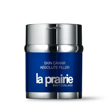 La Prairie's Skin Caviar Absolute Filler uses a highly concentrated dose of caviar — along with brown algae, peony root extract, and the brand's exclusive, biotechnological research-based Cellular Complex — to noticeably improve elasticity and firmness, plump the skin, and improve tone. It feels like liquid satin and dispenses the perfect amount of product every time via a hygienic, airless pump