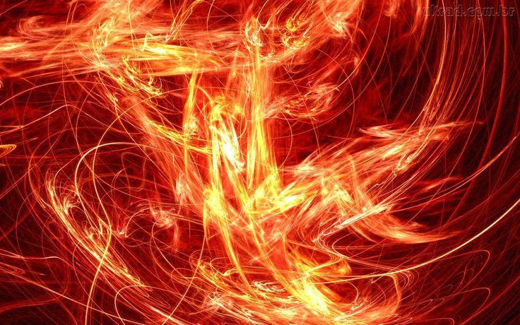 Papel de Parede - Ardendo em Chamas