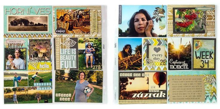 Dianka Kreativity: PL 2016 / W 34 / Indiánské léto a malý velký zázrak