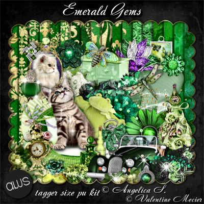 Emerald Gems Tagger Kit