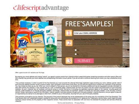Fall Winter Samples – Free samples of your favorite products! Enter your email address to get started!  #FreeBeautyProducts #FreeSamples #WinterSamples #US