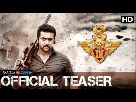 S3 Official Teaser | Tamil | Suriya, Anushka Shetty, Shruti Haasan | Harris Jayaraj | Hari, Singam 3 (S3) Official Trailer 2016 |Suriya, Shruthi Hassan | Hari | Fan made,
