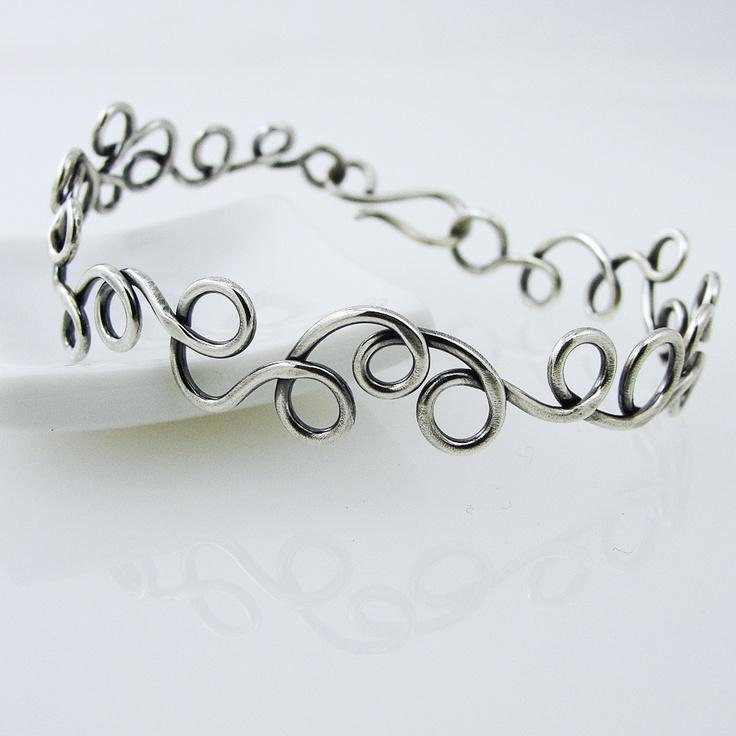 Gorgeous, easy to wear summer bracelet! Doodle Swirls! awejewelry.com