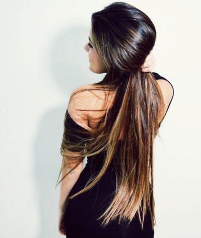 Awesome Long Ombre Hair!