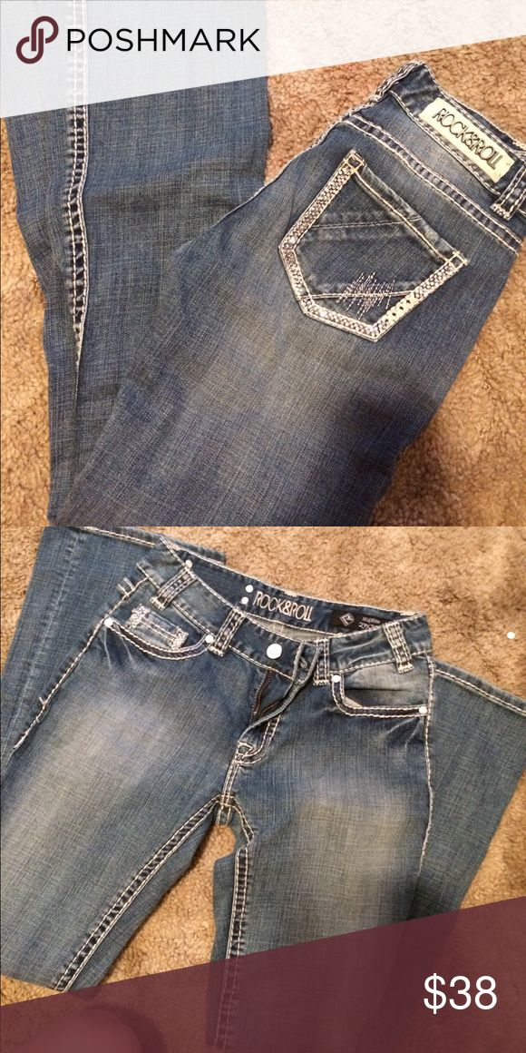 Rock and roll jeans New never worn Miss Me Jeans Boot Cut