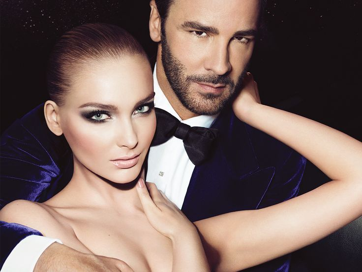 TOM FORD Beauty Fall 2012 Ad Campaign: Snejana & Daga TOMFORD BEAUTY  image