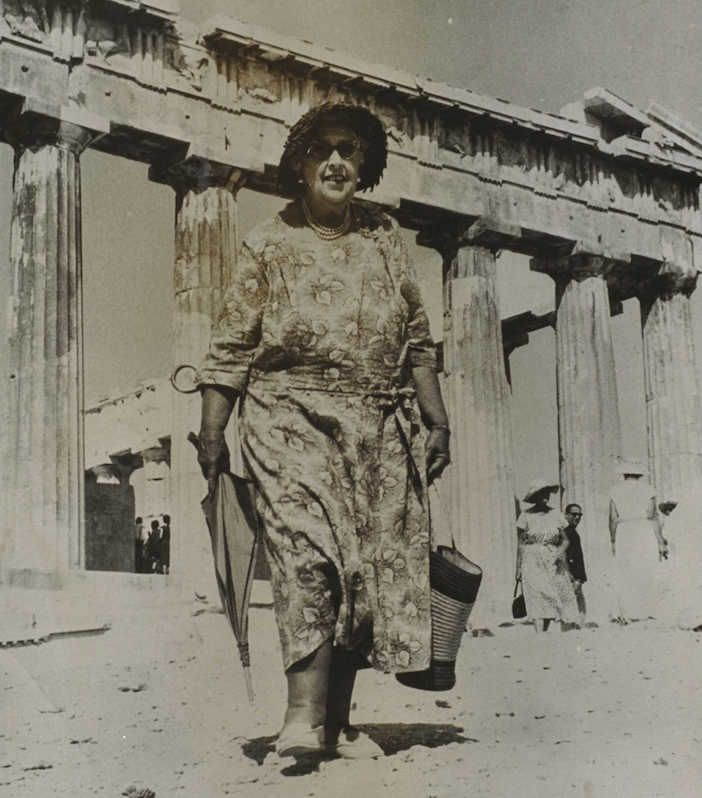 Agatha Christie visited the Acropolis