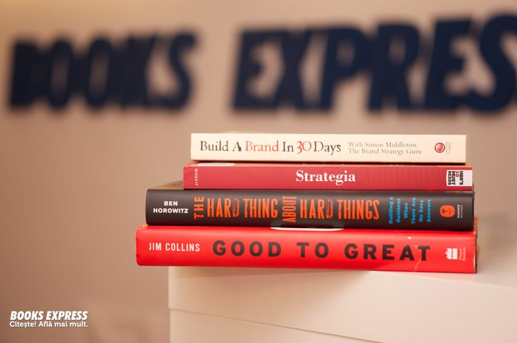 Cărți de business.  Good to Great & other bestsellers :)