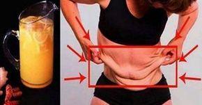 Para bajar de peso. Bebida de limón y cúrcuma
