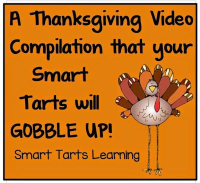 SmartTartsLearning: Gobble Up This Thanksgiving Video Collection
