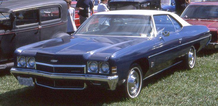 1972 Chevy Bel Air 2 Door Hardtop See The U S A In
