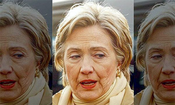 Because they make Hillary Clinton look like the tired, old, mean woman she really is.