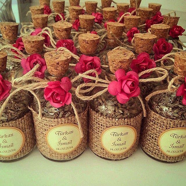 Lavanta şişesi  Adet fiyatı 2.30tl #hediyelik #lavanta #söz #nişan #kına #şişe #çiçek #renk #pembe