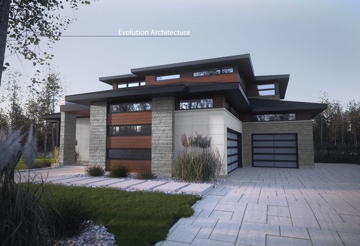 Evolution Architecture, modern house, exclusive creation E-887