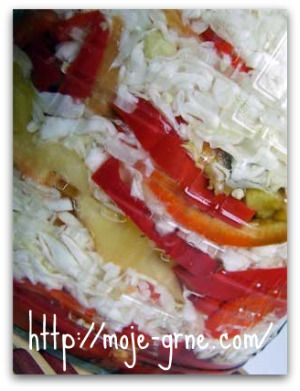 Slagani kupus i paprika