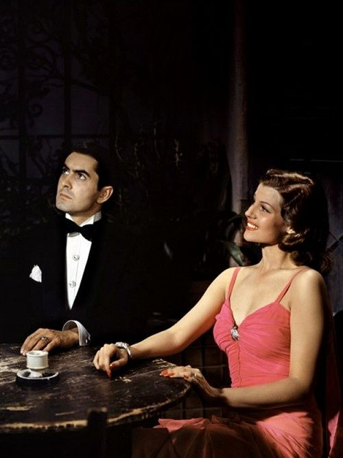 Tyrone Power and Rita Hayworth , Blood and Sand (1941)