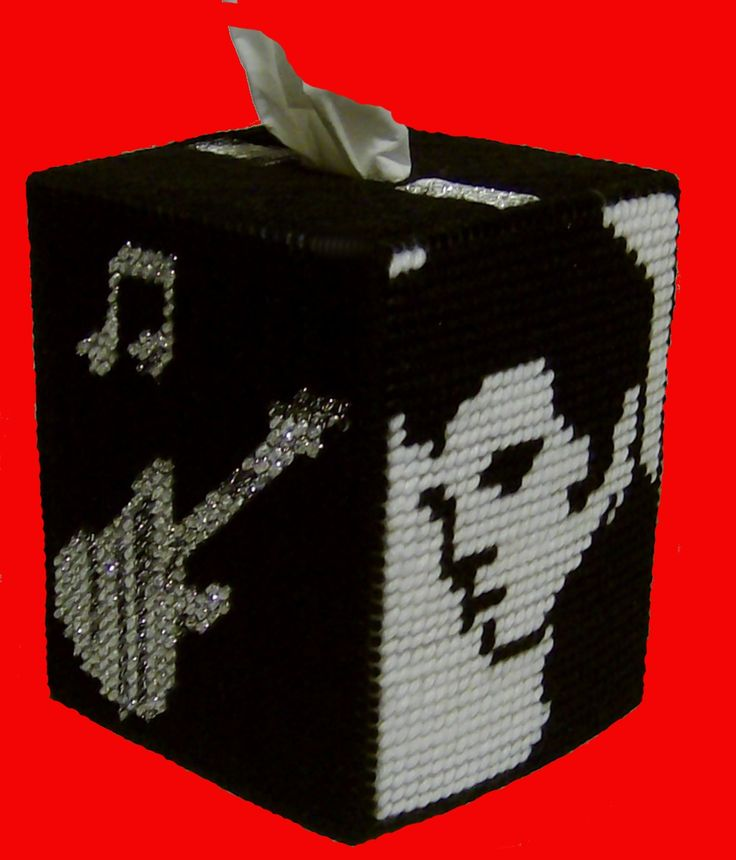 Great For Any Elvis Fan Pc Tissue Boxes Plastic