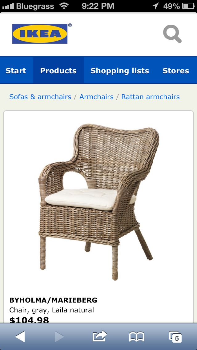 Ikea rattan chairs for dining room style ideas and lovely pieces pinterest chairs rattan - Wicker dining chairs ikea ...