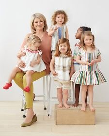 Dress patterns made out of tea towels!!!  Martha Stewart Crafts