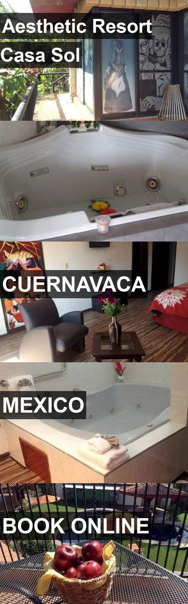Hotel Aesthetic Resort Casa Sol in Cuernavaca, Mexico. For more information, photos, reviews and best prices please follow the link. #Mexico #Cuernavaca #travel #vacation #hotel