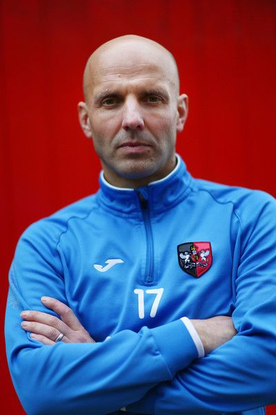 Paul Tisdale Photos Photos - Paul Tisdale the manager of Exeter City poses during the Exeter City FA Cup Media Day at the Cliff Hill training ground on January 6, 2016 in Exeter, England. - Exeter City FA Cup Media Day