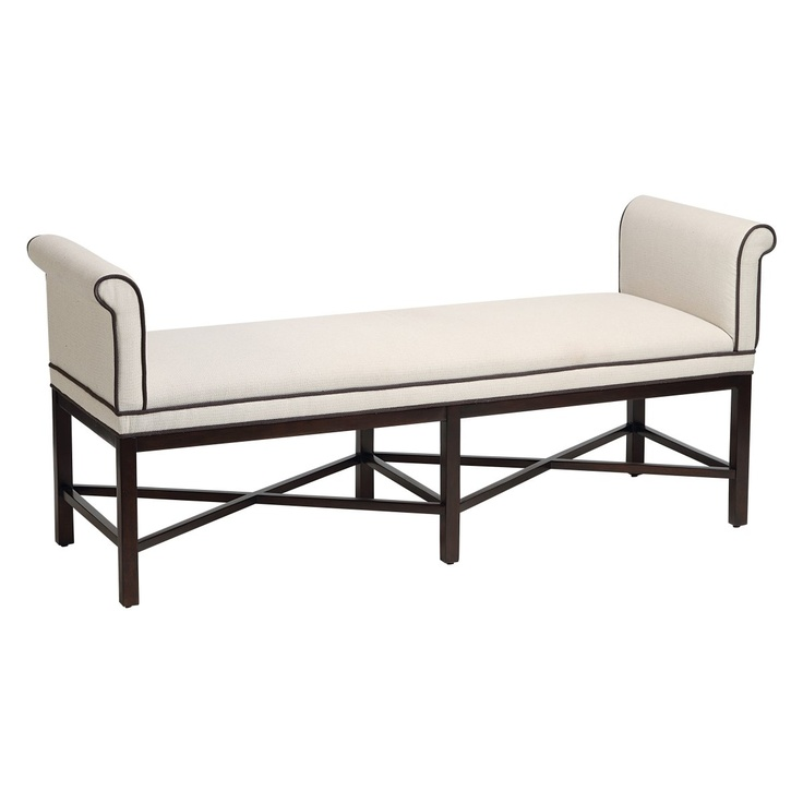 Stein World Living Room Kelly Transitional Roll Arm Bench 12480   Americana  Furniture   Tucker, GA