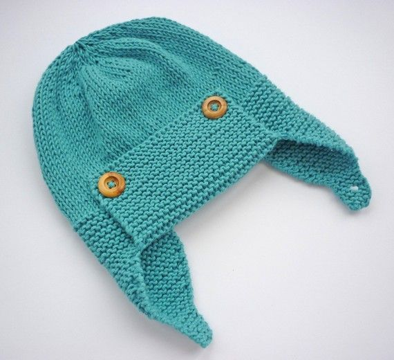 Baby Aviator Hat Knitting Pattern Hat Pattern for by LoveFibres