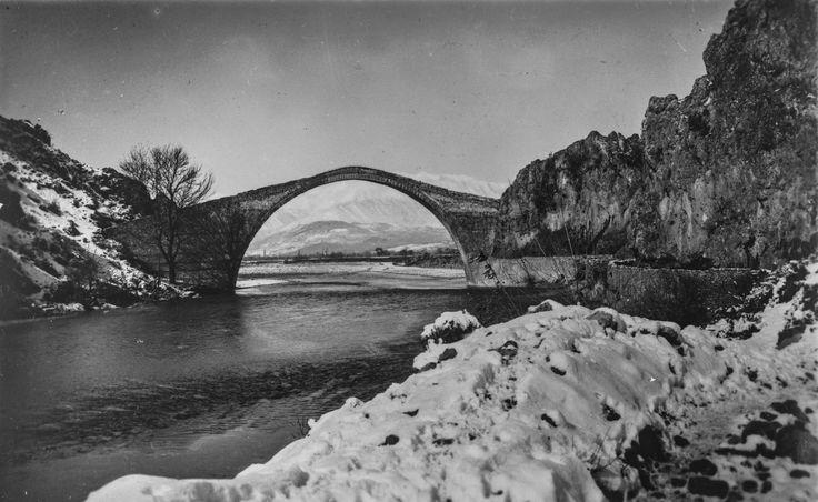 Ernest Novak Η Γέφυρα της Κόνιτσας πάνω από τον Αώο στα 1932.