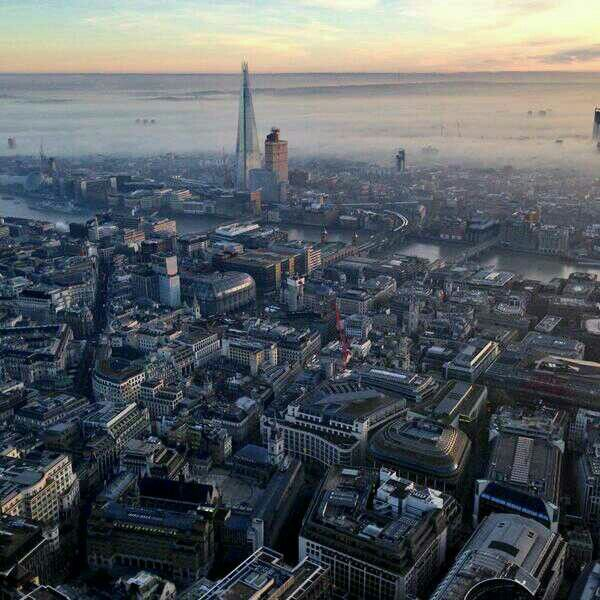 Misty south east London #London