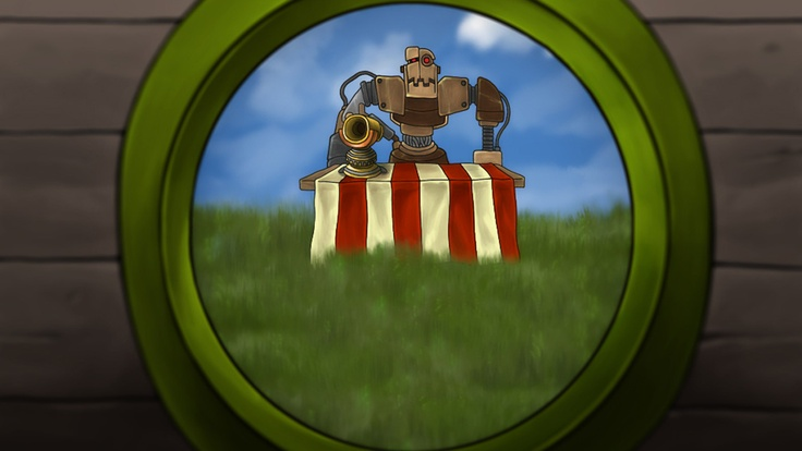 Bouncer has escaped and is looking back at the carnival life he once had. This arcade shooting game has given bouncer the opportunity to free himself. See what you can do with helping bouncer in this iPhone shooting game.