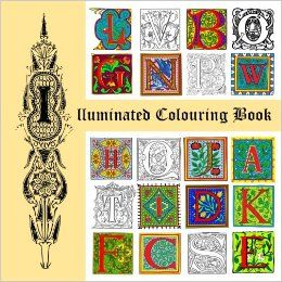 Illuminated Colouring Book: Amazon.co.uk: David Radcliffe: 9781536990522: Books
