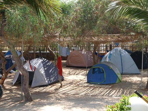 Naxos Beach Camping - It is important in tent building to close any and all seams on the tent. If your tent doesn't have a tube, you can find easily find them. This can keep rainwater, insects and animals from invading your tent. For more great tips see http://www.thecampingzone.com