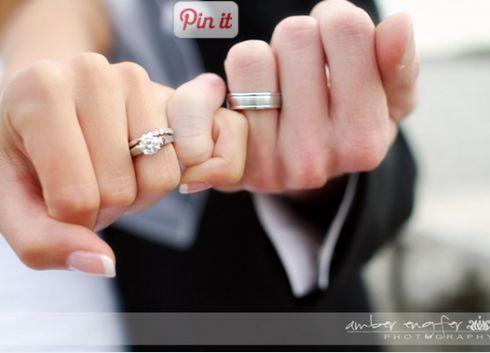 Classic wedding day photograph #weddingrings #wedding