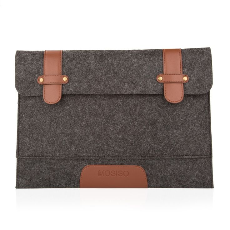 Mosiso Rub Resistance 11 12 13 15 Felt Laptop Cover Case Notebook Sleeve Bag Pouch for Apple Macbook Pro Air Shoulder Strap Bag #CLICK! #clothing, #shoes, #jewelry, #women, #men, #hats, #watches