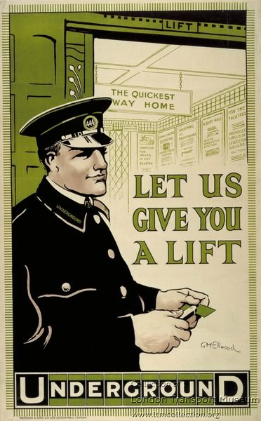 Let Us Give You a Lift by George Montague Ellwood, 1912
