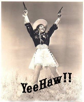 Afbeeldingsresultaat voor yee ha cowgirl