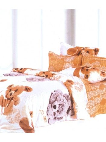 This bedsheet will remind me of my lovely childhood and teddy bears and all the cute memories associated with it:) #ValtellinaOnPinterest