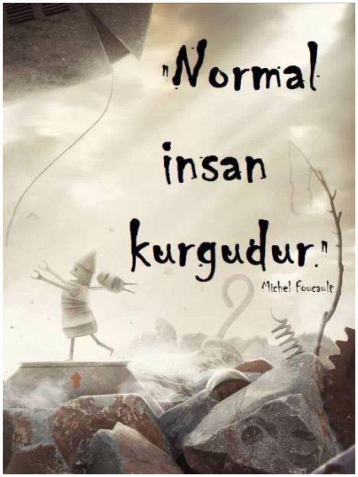 Normal insan kurgudur!
