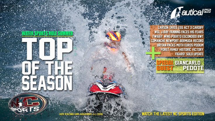 NC Sports  1 July Larson Rules Cardiff, Comanche Rips Bermuda, Big Wave ...