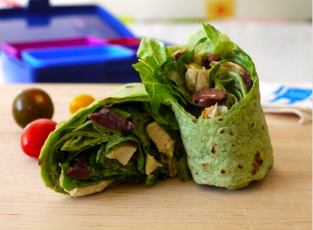 Weelicious has the best ideas for planning school lunches. #weePLAN: Fun Recipes, Back To Schools, Couscous Recipes, Sandwiches Recipes, Schools Lunches, Chicken Caesar Wraps, Wraps Recipes, Lunches Ideas, Healthy Lunches