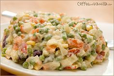 Polish Vegetable Salad