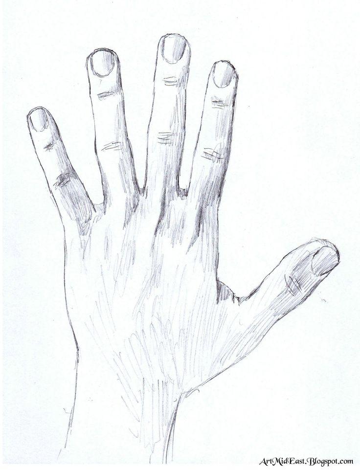 рисуем левой рукой картинки