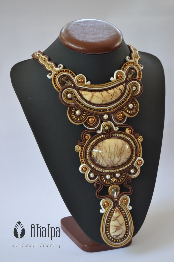 Cintatya Necklace Soutache