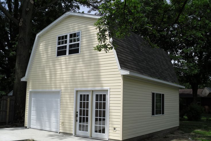 barn homes | Barn Style Garage Plans With a Gambrel Roof at family home plans