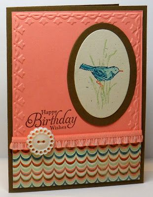 Stampin' Up! Simply Sketched Card, Christy Fulk, Stampin' Up! Demo