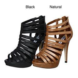 stilletos for women | Steve Madden Women's 'Nusance' High Heel Gladiator Sandals | Overstock ...