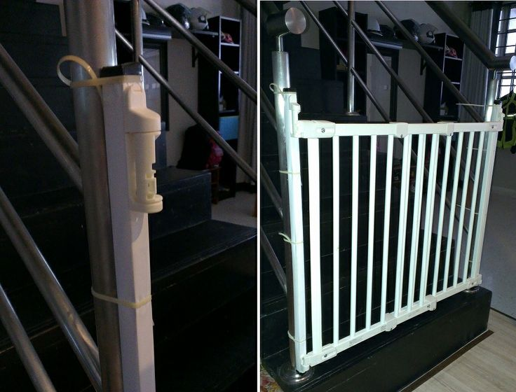 1000 ideas about child safety gates on pinterest safety for Wooden stair gate ikea