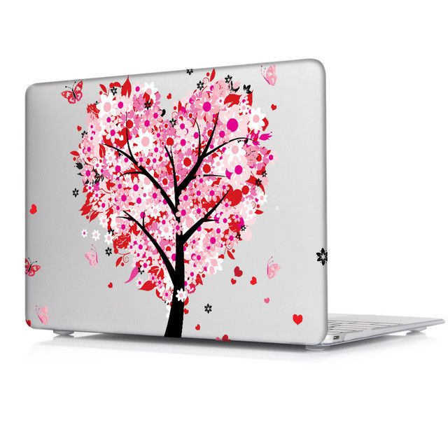 Butterfly Series Clear Case Cover For Apple macbook Pro Retina 12 13 15 Laptop Hard Shell For Air 11.6 13.3 inch / New Pro 2016